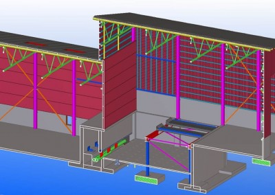 Lämpölaitoksen teräs- ja betonirakennesuunnittelu